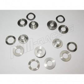 Kit oeillets rivets + rondelles pour montage disque de frein avant Brembo Série ORO rond fixe BMW