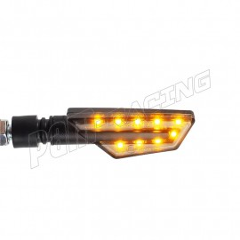 Paire de clignotants a LED LIGHTECH en ABS homologués E8