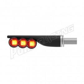 Paire de clignotants a LED LIGHTECH en ABS homologués E8