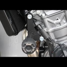 Tampons de protection avec platines de déport GSG MOTO 790 Duke 2018