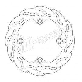 Disque de frein arrière fixe 220 mm FLAME Moto-Master HONDA, TRIUMPH