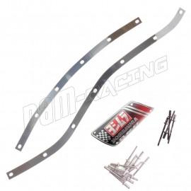 Kit réparation silencieux R11 Yoshimura cerclage + rivets + plaque