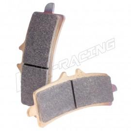 Plaquettes de frein avant racing métal fritté XBK5 CL BRAKES