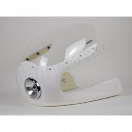 Kit Semi-carénage Cafe Racer fibre de verre 350-1000 CM3 lampe 4 pouces 1/2