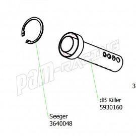 Réducteur de bruit dB-killer pour silencieux et lignes racing ARROW