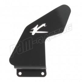 Protège talon aluminium côté gauche Valter Moto YAPC009