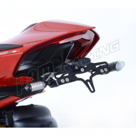 Support de plaque d'immatriculation R&G Racing Panigale V4 2018-2019