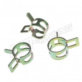 Collier diamètre 9 ou 11 mm pour Durite TYGON bocal de frein diamètre 6.4 ou 8 mm