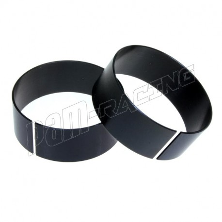 Entretoises de réduction de 1 mm ou 2 mm pour demi-guidons multiclip ABM