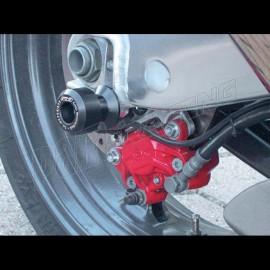 Diabolos support béquille 10 mm GSG MOTO ZX-12R 2000-2001 plastique Noir