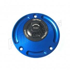 Bouchon de réservoir à ouverture et fermeture rapide en ergal 7075 LIGHTECH couleur au choix HONDA