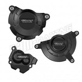 Kit de 3 protections de carter GB Racing ZX10R 2011-2021