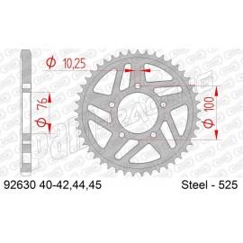 Couronne acier racing 525 AFAM pour jantes OZ, MARCHESINI, DYMAG, BST, PVM