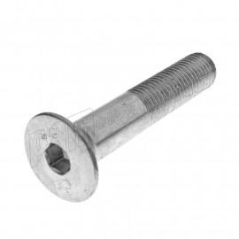 Vis M10 X 1.25 à tête fraisée 6 pans creux DIN 7991 pour tampons protections