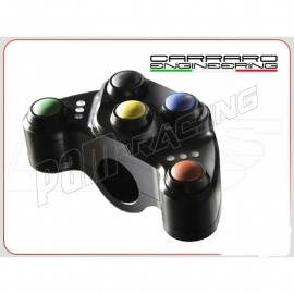 Commodo racing gauche universel 5 fonctions PS5 programmable Carraro Engineering