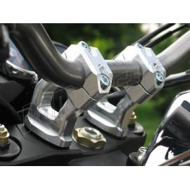 Pontets de guidon GSG MOTO XJR 1200, XJR 1300 pour guidon diamètre 28.5 mm