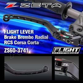 Demi-levier de frein FLIGHT ZETA pour maître cylindre BREMBO RCS CORSA CORTA