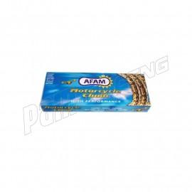 Chaîne AFAM A428XMR-G Xs-ring renforcée couleur or