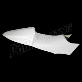 Coque arrière racing fibre de verre Ninja 300 2013-2016 SEBIMOTO