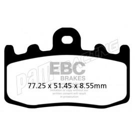 Plaquettes de frein avant sintered metal EPFA-HH EBC Brakes BMW