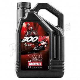 Huile Moteur 300V 4T FACTORY LINE 10W50 4L MOTUL