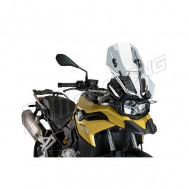 Bulle Touring-Racing règlable PUIG F750GS 2018-2019, F850GS 2018-2019, F850GS Adventure 2019