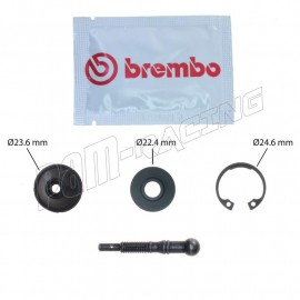Kit réparation axe/coupelle pour maître cylindre Brembo PR 16/19