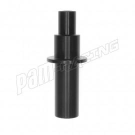 Axe de levier 64 mm aluminium anodisé noir ABM