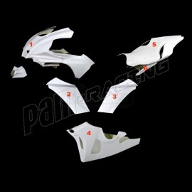 Carénage poly complet racing 6 parties fibre de verre Conversion R1 2020 pour R1 2015-2019