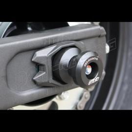 Protections de bras oscillant et diabolos support béquille GSG MOTO VOGE 500R 2020