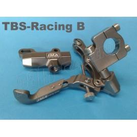 Kit freinage racing au pouce fixation tube de guidon IMA Special Parts