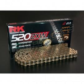Chaine RK 520ZXW XW'Ring Ultra renforcée or ou noir