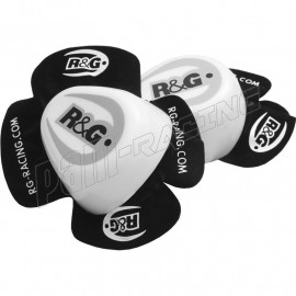 Sliders pour Genoux Aero blancs ou noirs R&G Racing