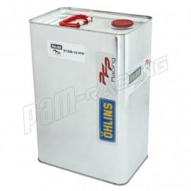 Huile de fourche 7.5 Ohlins 10 litres