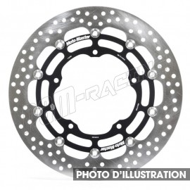 Disque de frein avant flottant Halo 296 mm ep 5.0 mm RS250R, TSR250, CBR400F/F2, RVF400, VFR400R/750R Moto-Master