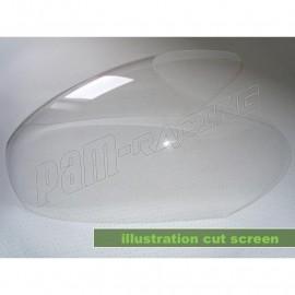 Bulle claire Café Racer UNI 350-1000cc/BMW R80,90,100 MOTOFORZA