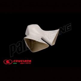 Canaux Entrées d'air racing fibre de verre CRUCIATA Panigale V4R 2019-2021, Panigale V4S 2020-2021