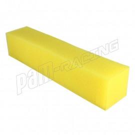 Mousse de rétention d'essence haute qualité 10x10x50 cm jaune