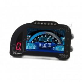 Tableau de bord et chronomètre Chrome PRO2 I2M