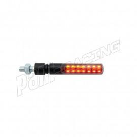 Paire de clignotants à LED LIGHTECH en ABS homologués E8
