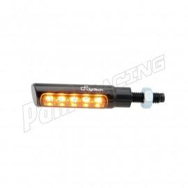 Paire de clignotants à LED LIGHTECH en aluminium homologués E8