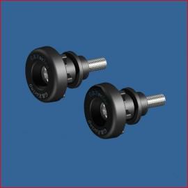 Diabolo Support Béquille GB Racing 8mm SV650F, SV650N/X 2003-2021, DL650 V-Strom 2017-2020