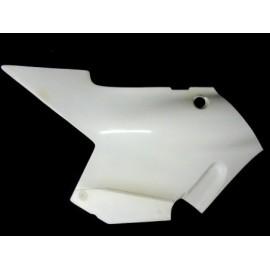 Coque arrière pour selle origine partie avant gauche fibre de verre RG 500 Gamma 85-87