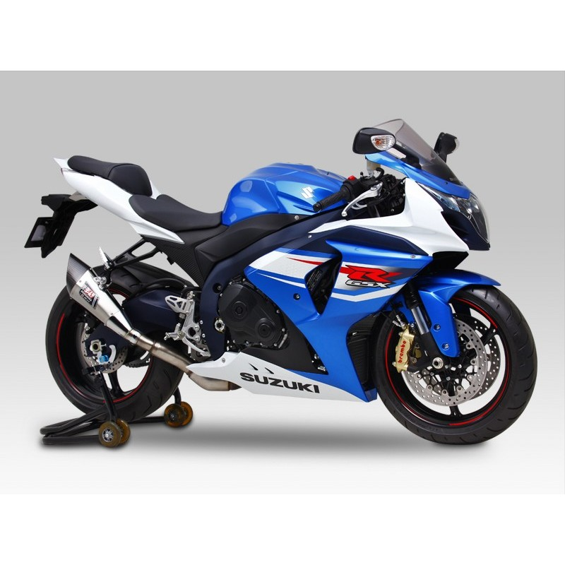 silencieux r 11 double sortie yoshimura gsxr 1000 2012. Black Bedroom Furniture Sets. Home Design Ideas